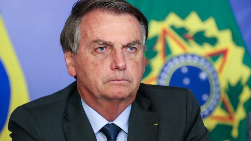 o presidente jair bolsonaro em evento em brasilia - Flávio diz que Jair Bolsonaro foi para UTI e intubado como precaução