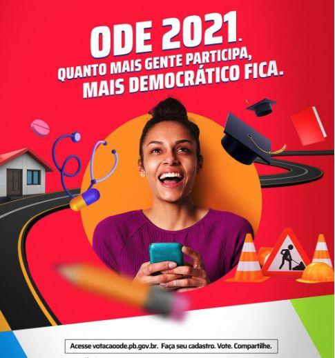 ode - ODE alerta para população de Conde eleger prioridades para o município no orçamento estadual de 2021