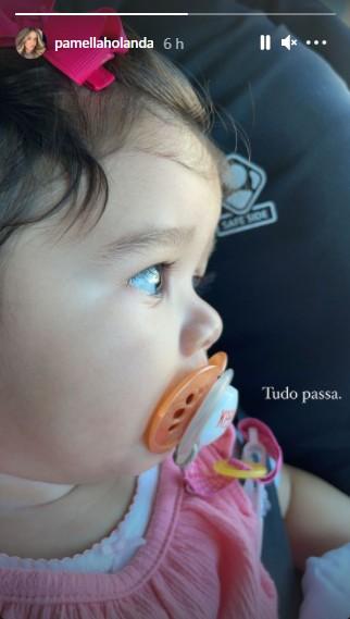 pamella holanda 3 - Pamella Holanda compartilha foto da filha pela 1ª vez após denunciar DJ Ivis