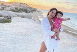 Pamella Holanda compartilha foto da filha pela 1ª vez após denunciar DJ Ivis