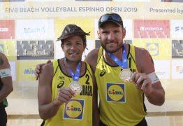 Paraibano Álvaro Filho estreia nos Jogos Olímpicos pelo vôlei de praia nesta sexta