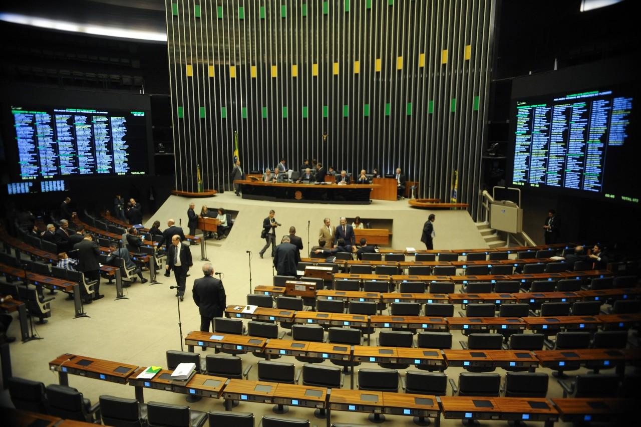 plenario da camara 2 - Deputados aprovam texto-base do novo Código Eleitoral