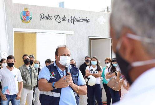 pref - Prefeitura de Princesa Isabel realiza entrega de fardamento e EPIs a agentes comunitários de saúde