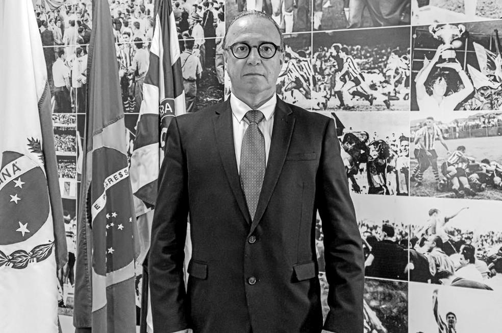presidente coribita - LUTO NO ESPORTE: Presidente do Coritiba morre vítima da Covid-19 aos 67 anos
