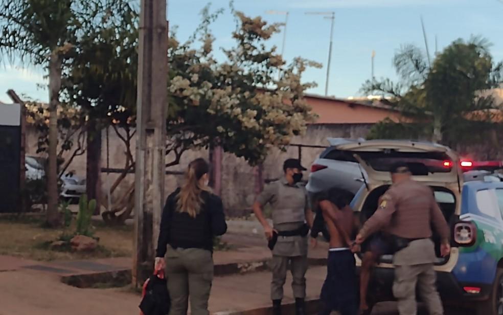 presos aguas2 - MAIS DE 30 CRIMES: Polícia prende seis pessoas envolvidas com o caso Lázaro Barbosa em Goiás, diz secretário