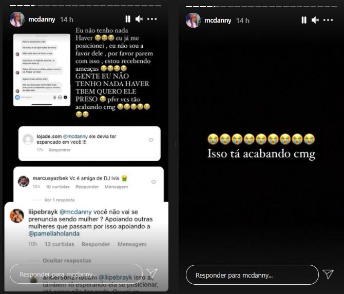"""print mc danny - MC Danny, parceira de DJ Ivis em hit, revela que está sofrendo ameaças e que vai regravar canção: """"O mundo é cruel"""" - VEJA"""