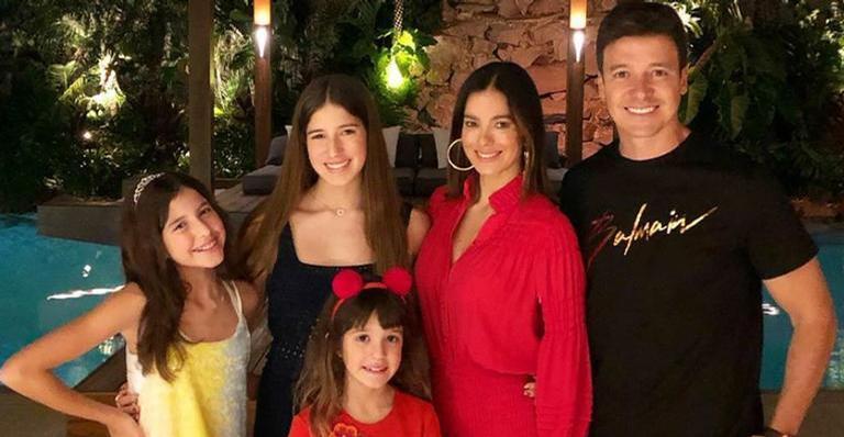 """rodrigo faro compartilha video com as filhas e encanta 934538 - Vera Viel se apega à fé após família ser diagnosticada com Covid-19: """"Tudo ficará bem"""""""