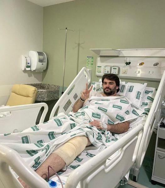 samuel lacerda prefeito operado 526x600 1 - Prefeito de Conceição Samuel Lacerda passa por procedimento cirúrgico em Recife