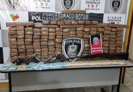 Policia apreende 500 quilos de maconha durante operação na Paraíba
