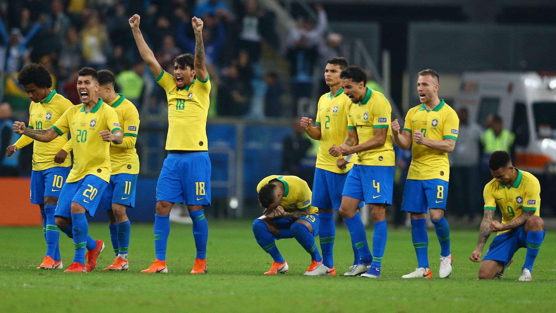 selecao brasil paraguai copa america 28 06 2019 zg7zfkaikg291ruteok5rldai - Brasil e Argentina farão final da Copa América no Maracanã no próximo sábado