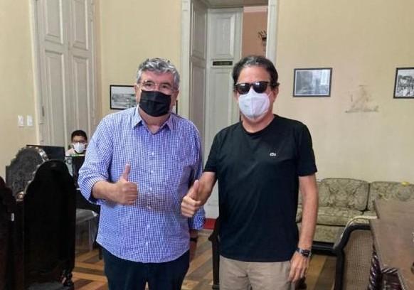 """ti 1 - Tião Gomes comemora nomeação de Roberto Paulino para secretário-chefe de Governo: """"o Brejo está fortalecido e bem representado"""""""