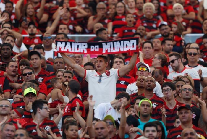 torcida fla - LIBERTADORES: se não for liberado o jogo com público no Maracanã, Flamengo poderá jogar em João Pessoa