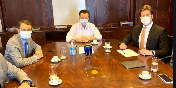 trio2 749x375 1 - Insubordinação à vista? enquanto Kassab morde, na Paraíba, Romero Rodrigues assopra relação com Bolsonaro para 2022