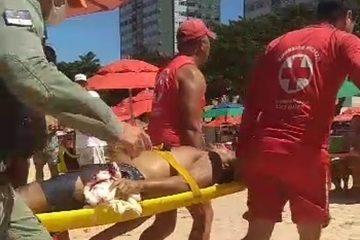 tubarao 1 360x240 - Novo ataque de tubarão é registrado na praia de Piedade, em PE - VEJA VÍDEO
