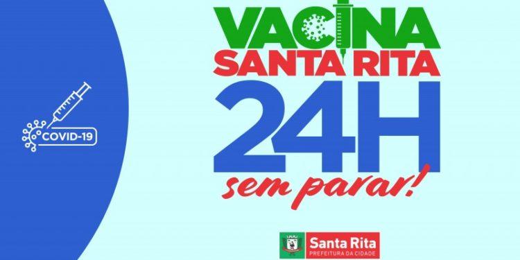 VACINA SEM PARAR: Santa Rita se prepara para 24h de vacinação, nesta quinta-feira