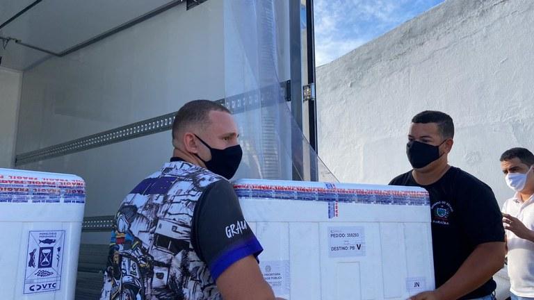 vacina estado - Secretaria estadual de Saúde distribui mais de 65 mil doses da vacina contra a Covid-19 para municípios paraibanos