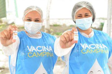 vacinacao em campina grande 2 360x240 - Campina Grande segue aplicando segundas doses das vacinas Astrazeneca e Coronavac nesta segunda-feira