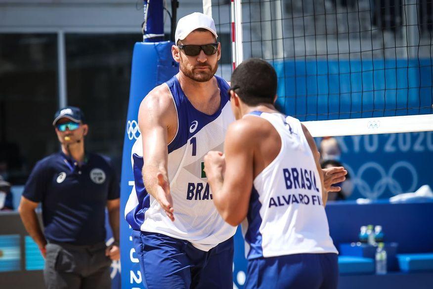vpmasc wr 240721 8131 - SUCESSO! Paraibano, Álvaro Filho, estreia com vitória no vôlei de praia nas Olimpíadas de Tóquio