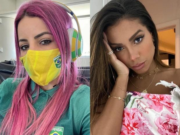 whatsapp image 2021 07 20 at 15.17.58 - Anitta concorda com Leticia Bufoni e afirma ter 'dificuldade para focar' quando vê gente bonita
