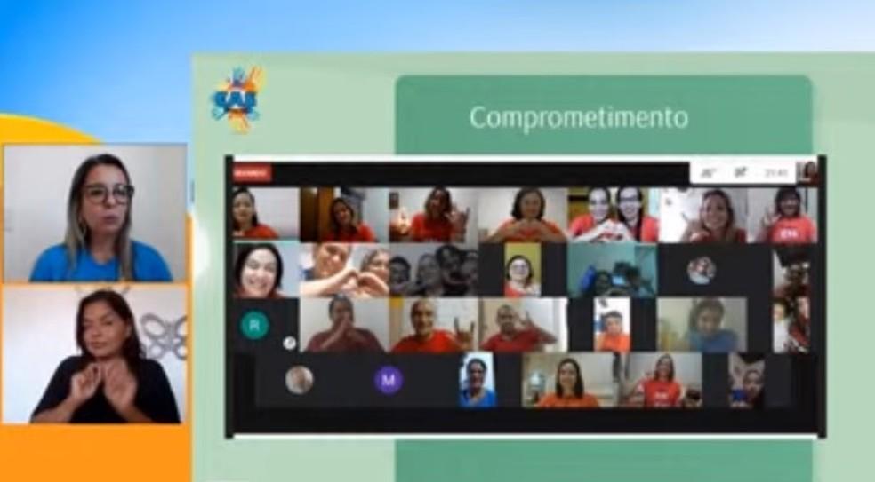 01 - Especialistas discutem educação inclusiva e ensino remoto durante encontro virtual