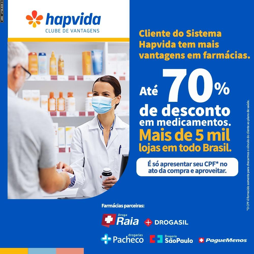 0401db49 82e8 3ec8 86d8 431920ef5a74 - Hapvida Clube de Vantagens firma parceria com Drogaria São Paulo, Drogarias Pacheco, DrogaRaia, Drogasil e Pague Menos