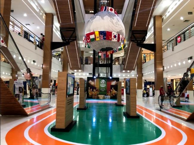 0f7b106b 92ff bc95 f771 cf40a2d20445 - Shoppings Manaira e Mangabeira prorrogam permanência de espaços alusivos às Olimpíadas