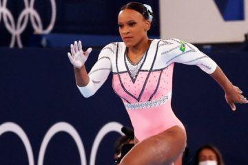 119692499 rebeca 360x240 - Rebeca Andrade fica em 5º na final do solo e se despede de Tóquio com duas medalhas