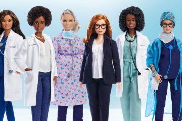 1610631 e1628090351615 360x240 - Barbie homenageia as mulheres que se destacaram na luta contra a covid-19