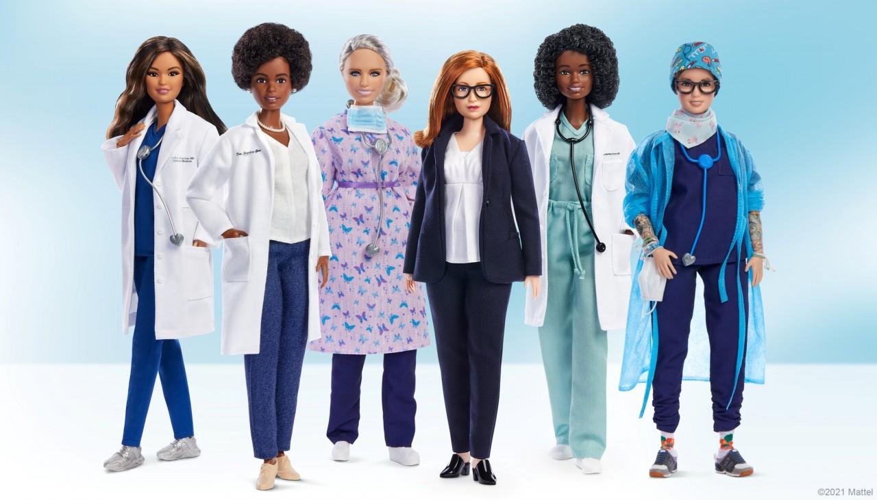 1610631 - Barbie homenageia as mulheres que se destacaram na luta contra a covid-19