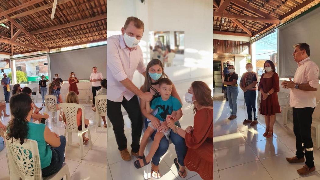 1629203902867428 - Prefeito Chico Mendes participa de reunião de grupo de mães de crianças portadoras de necessidades especiais