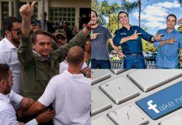 FACEBOOK: Páginas de fake news atingiram ápice no governo Bolsonaro, diz estudo