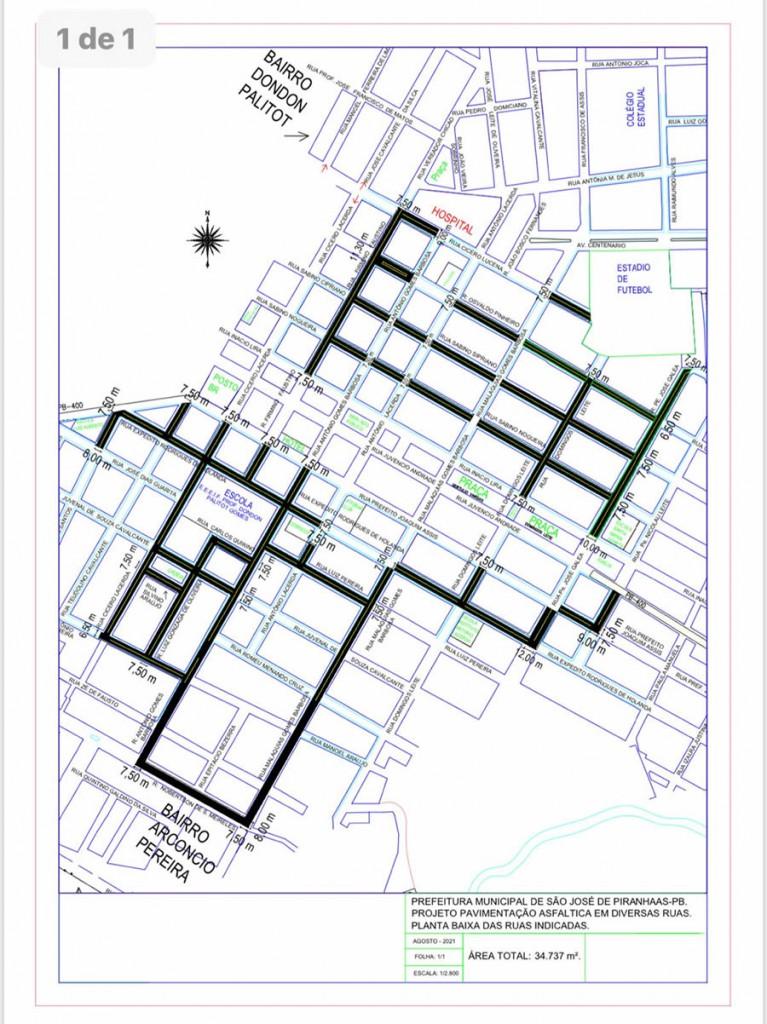 2 WhatsApp Image 2021 08 31 at 13 - Em parceria com o governo da Paraíba, Chico Mendes apresenta planta para a pavimentação asfáltica em São José de Piranhas; veja