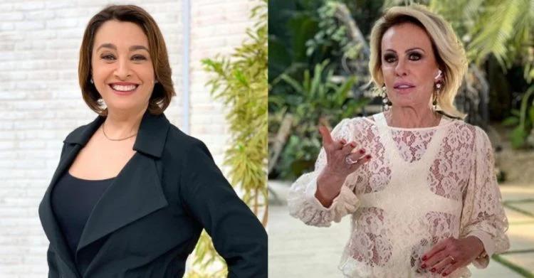 20200923 catia fonseca ana maria braga 750x391 1 - ENCONTRO INÉDITO: Após troca de farpas, Ana Maria Braga e Catia Fonseca vão unir Globo e Band - ENTENDA