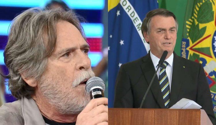 20201015 jose de abreu bolsonaro 750x434 1 - Irritado, José de Abreu manda Bolsonaro enfiar os tanques naquele lugar