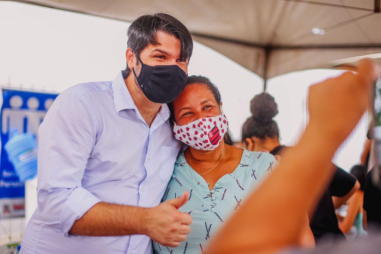 """2df1d9c3 146e 46e1 b0da 736a41666e3a scaled - Leo Bezerra destaca importância da Caravana do Cuidar: """"como é gratificante fazer o bem"""""""