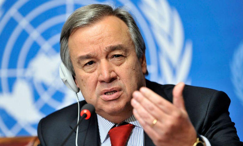 """465887 guterres 625x415 1 - Relatório da ONU sobre o clima é de """"alerta vermelho"""" para a humanidade"""