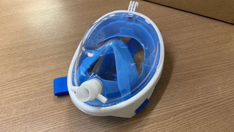 50b6c892 c918 463c bfc0 2172da266ffa - Saúde recebe doação de máscaras que ajudam no tratamento de pacientes com Covid-19