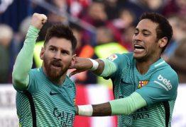 Neymar comemora chegada de Messi ao PSG: 'Juntos novamente'