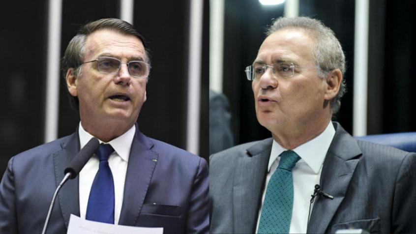 60b55de5a3188 - TRATAMENTO PRECOCE: Renan Calheiros vai propor indiciamento do presidente Bolsonaro por 'curanderismo'