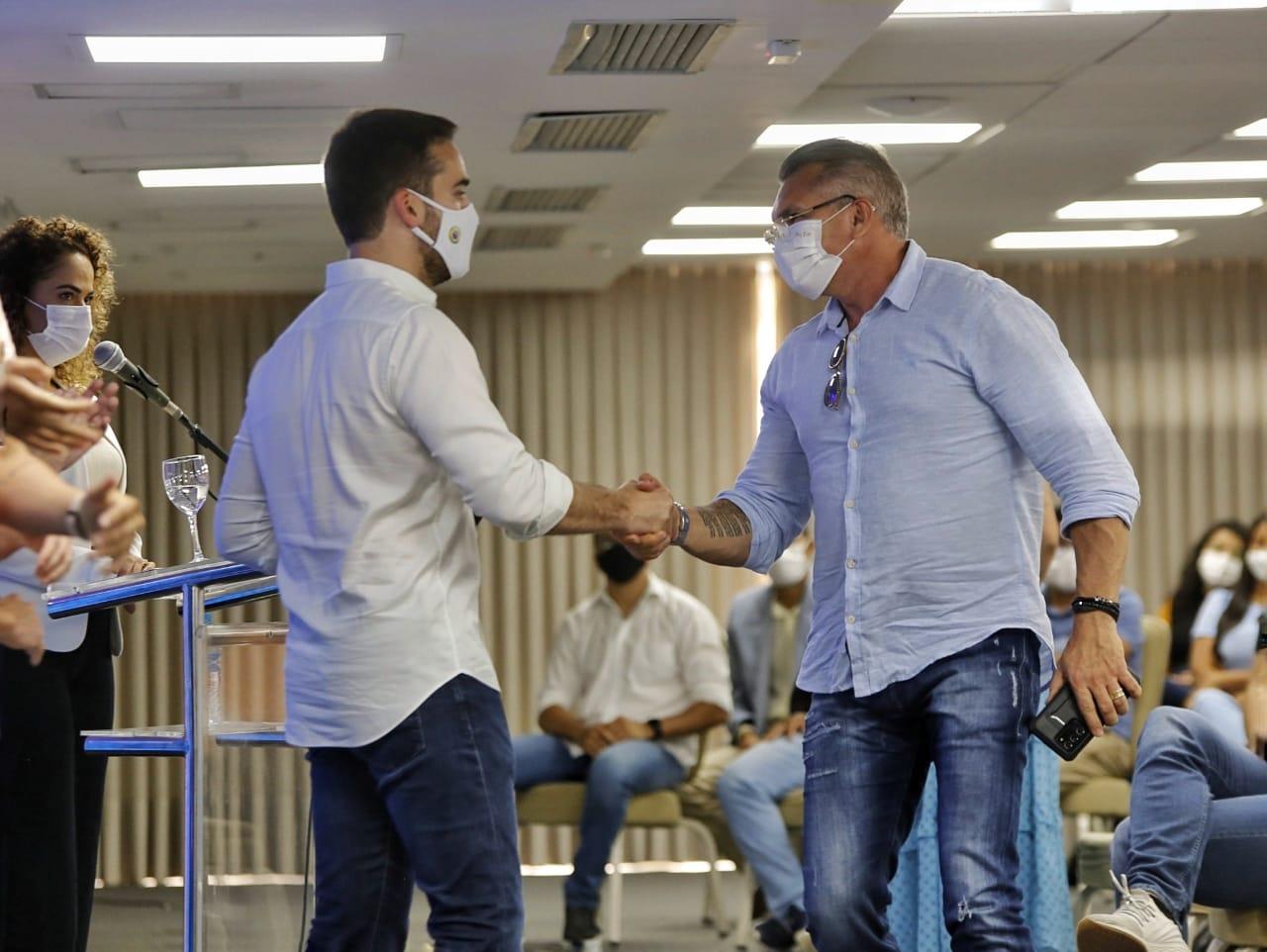 7DEB50FD 4405 4034 B664 8595D2DB8345 - 'GOSTO DE OUVIR E DIALOGAR': Julian Lemos justifica presença em evento do PSDB com Eduardo Leite