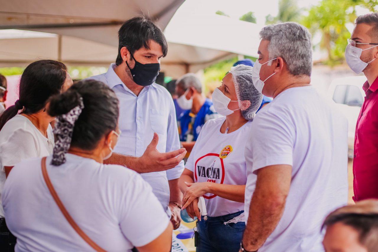 """8f230973 332e 483c b866 a85ad9e31df0 scaled - Leo Bezerra destaca importância da Caravana do Cuidar: """"como é gratificante fazer o bem"""""""