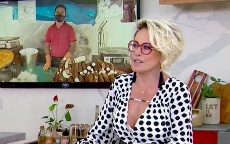 ANA MARIA 1 - Ana Maria Braga elogia 'mandiocão' de vendedor e vira meme na internet - VEJA VÍDEO