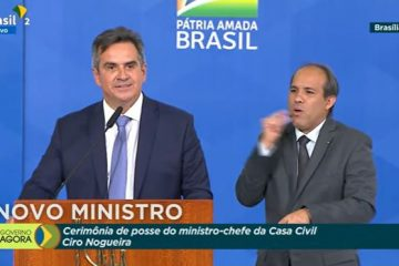 CIRO NOGUEIRA 360x240 - Ciro Nogueira toma posse na Casa Civil: 'não há problemas em mudar de opinião, para melhor'; VEJA VÍDEO
