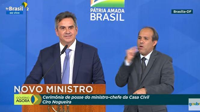 CIRO NOGUEIRA - Ciro Nogueira toma posse na Casa Civil: 'não há problemas em mudar de opinião, para melhor'; VEJA VÍDEO