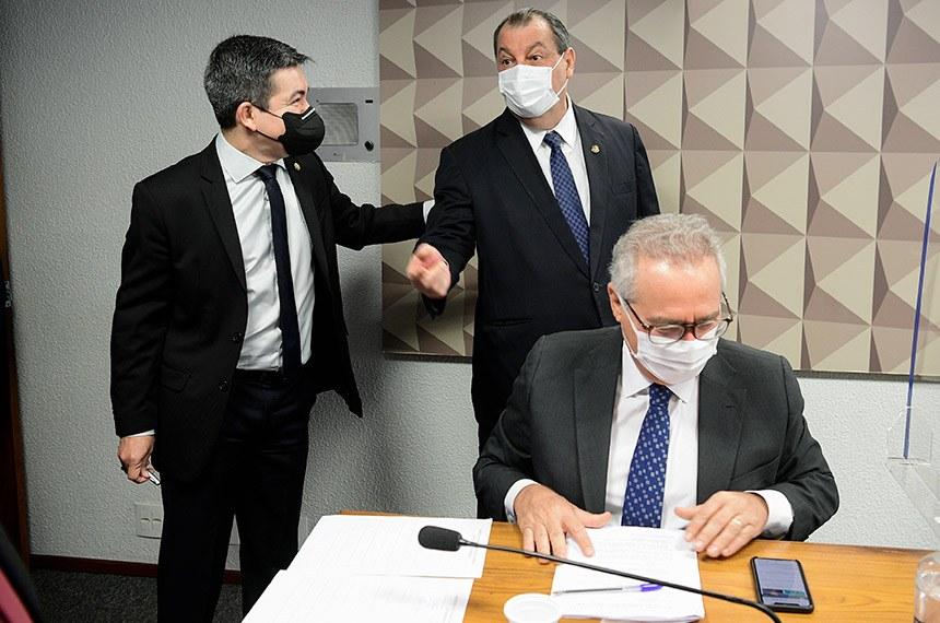 CPI - CPI DA COVID-19: Renan diz que Ricardo Barros, líder do governo, comandou 'roubalheira'