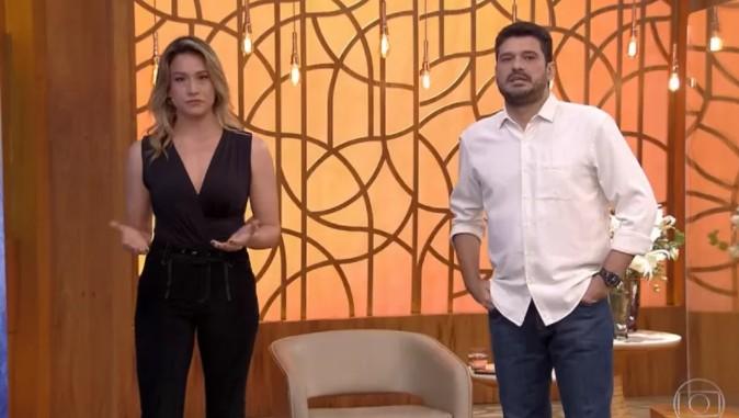 """Captura de tela 2021 08 17 132417 - Fátima Bernardes passa mal e é substituída por Fernanda Gentil no """"Encontro"""" - VEJA VÍDEO"""