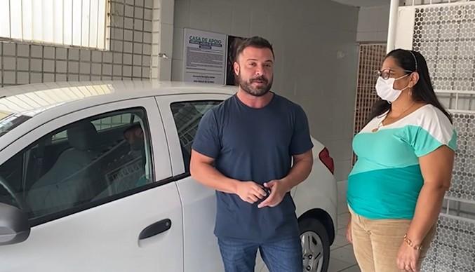 Captura de tela 2021 08 24 172901 - Caio Roberto entrega carro a casa de apoio em João Pessoa para atender enfermos das cidades de Santa Cruz, Aparecida e São Francisco