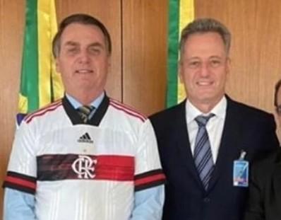 Captura de tela 2021 08 31 144700 - Presidente do Flamengo promete ajudar Bolsonaro com doações e votos em 2022