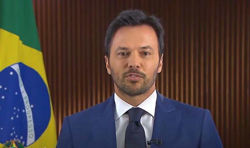 Capturar 12 - Em pronunciamento, ministro defende privatização dos Correios: 'É fundamental'