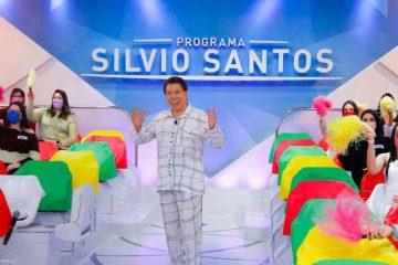 Capturar 22 360x240 - Silvio Santos grava programa de Dia dos Pais vestido de pijama